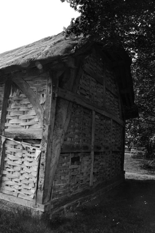 Threshing barn - Avoncroft Museum, Bromsgrove, Worcestershire, UK 2019