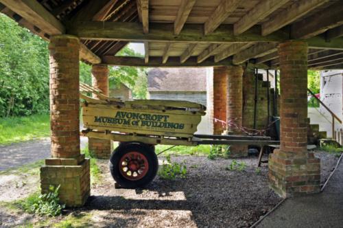 Granary - Avoncroft Museum, Bromsgrove, Worcestershire, UK 2019