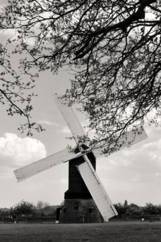 Windmill - Avoncroft Museum, Bromsgrove, Worcestershire, UK 2019