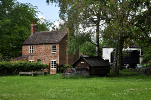 Nailer's Cottage - Avoncroft Museum, Bromsgrove, Worcestershire UK 2019