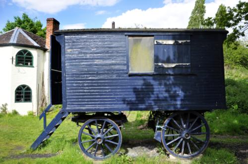 Road Menders' Wagon, Avoncroft Museum, Bromsgrove, Worcestershire, UK 2019