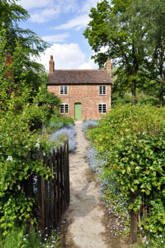 Nailer's Cottage Garden - Avoncroft Museum, Bromsgrove, Worcestershire UK 2019