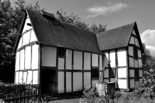 Town house - Avoncroft Museum, Bromsgrove, Worcestershire, UK 2019