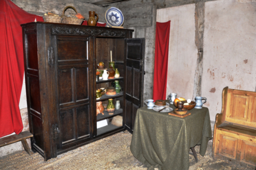 Town house inside - Avoncroft Museum, Bromsgrove, Worcestershire, UK 2019