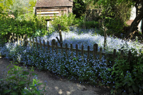 Tollhouse's Garden, Avoncroft Museum, Bromsgrove, Worcestershire UK 2019