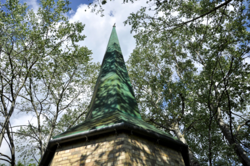 Spire from St Paul's Church, Smethwick - Avoncroft Museum Bromsgrove, Worcestershire, UK 2019
