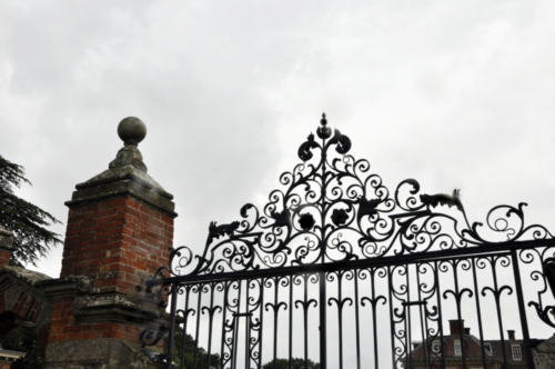 Gate - Hanbury Hall, Worcestershire, UK 2020
