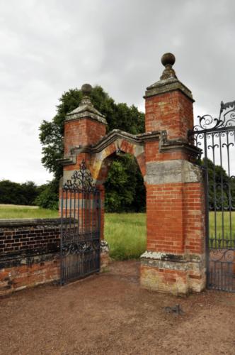 Archway - Hanbury Hall, Worcestershire, UK 2020