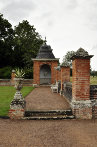 Gazebo - Hanbury Hall, Worcestershire, UK 2020