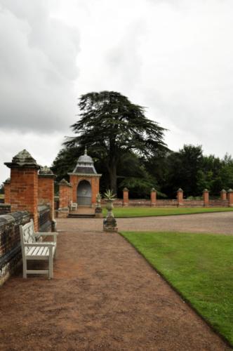 Gazebo - Hanbury Hall, Worcestershire, UK 2020