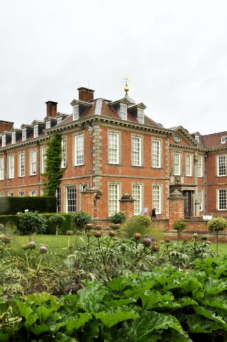 The Formal Vegetable Garden - Hanbury Hall, Worcestershire, UK 2020