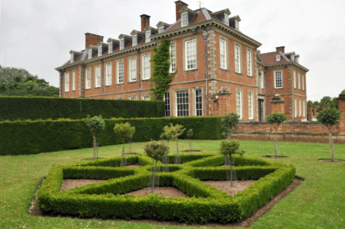 Garden - Hanbury Hall, Worcestershire, UK 2020