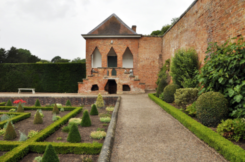 The Sunken Parterre and Old Dairy - Hanbury Hall, Worcestershire, UK 2020