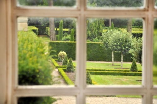 View from The Old Dairy - Hanbury Hall, Worcestershire, UK 2020