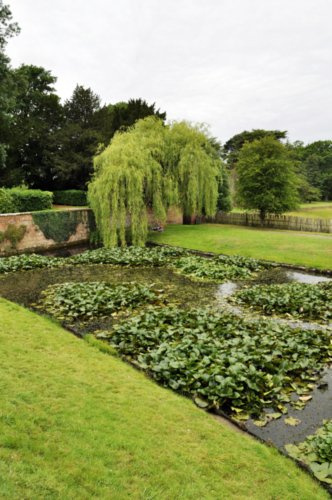 Pond - Hanbury Hall, Worcestershire, UK 2020