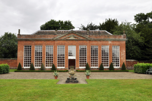 The Orangery and Mushroom House - Hanbury Hall, Worcestershire, UK 2020