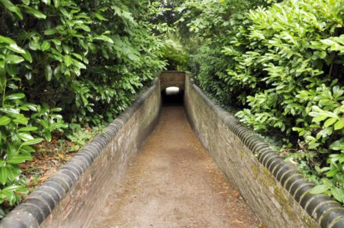 Snobs' Tunnel - Hanbury Hall, Worcestershire, UK 2020