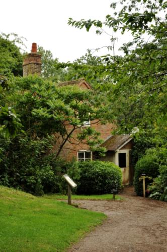 The Ice House - Hanbury Hall, Worcestershire, UK 2020