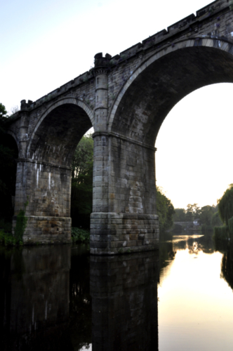 Knaresborough Railway Viaduct, North Yorkshire, UK 2020