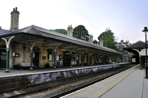 Knaresborough Railway Station, North Yorkshire, UK 2020