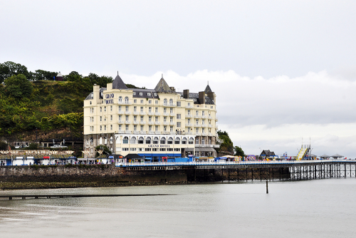 Grand Hotel in Llandudno, North Wales, UK 2018
