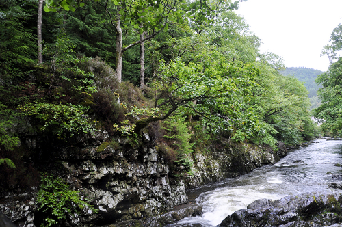 Betws-y-Coed, Snowdonia, North Wales, UK 2018