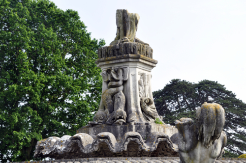 The Flora Fountain, Witley Court and Gardens, Worcestershire, UK 2018