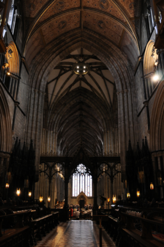 Worcester Cathedral, Worcestershire, UK 2018