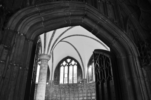 Chapter House, Worcester Cathedral, Worcestershire, UK 2018