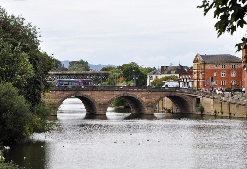 River Severn, Worcester, Worcestershire, UK 2018
