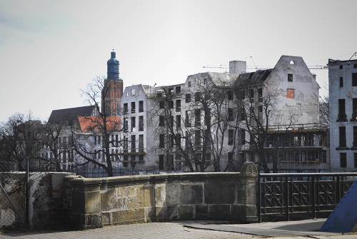 Former hospital buildings, Wroclaw, Poland 2019